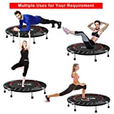 FirstE 40'' Portable Fitness Trampolines, Foldable