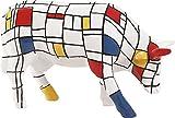 Cow Parade Moondrian Cow Figurine