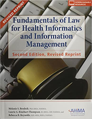Free download fundamentals of law for health informatics and free download fundamentals of law for health informatics and information management full pages fandeluxe Gallery