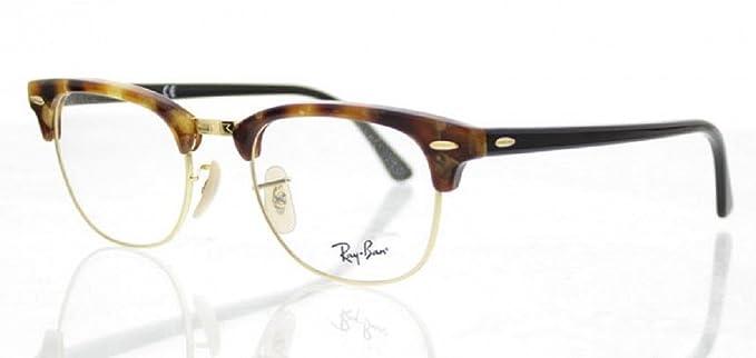 f56ecd415c131 RayBan RX 5154 Clubmaster RayBan RX5154 5494 Brown Fleck Optical Frames   Amazon.co.uk  Clothing