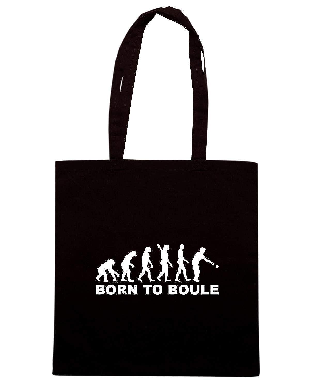 Amazon T Boule Scarpe Evoluzione Borse Shopper Borsa it Nera Shirtshock Bocce E Dec0102 wrBH8wpxq