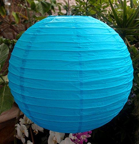 Dexon Power 24'' TURQUOISE BLUE Paper Lanterns