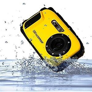 "ETTG BP88 Camera Waterproof Digital Video Camera 2.7"" TFT Screen 5mp Underwater 9 Mega 8x Zoom Digital Camera"