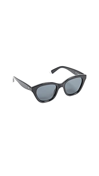 Le Specs Wannabae Gafas de sol color negro uni Negro: Amazon ...