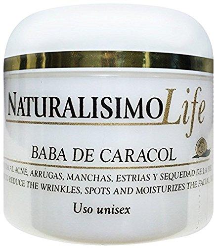Baba de Caracol Snail Cream Wrinkles Stretch Marks Arrugas Acne