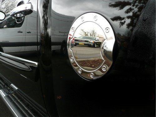2007-2013 Silverado GMC Sierra Chrome Gas Door Cover