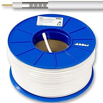 Fuba GKA 720 Universal de cable coaxial 100 m de doble ...