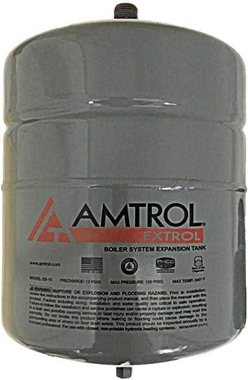 EX15 Boiler Expansion Tank #101-1 2.0 Gallon Volume Amtrol Extrol EX-15