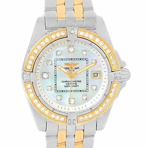 Breitling Windrider quartz womens Watch D71356 (Certified Pre-owned)