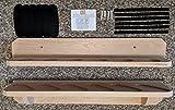 gun bore sealer - Weaver Wood Designs Solid Oak 6-Gun Unfinished Gun Rack/Wall Display