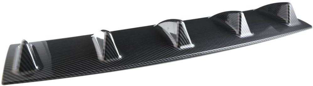 58cm Cornice Diffusore Spoiler Paraurti Posteriore Pinna Di Squalouto Automobile