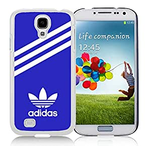 Fashionable And Durable Custom Designed Cover Case For Samsung Galaxy S4 I9500 i337 M919 i545 r970 l720 With Adidas 30 White Phone Case