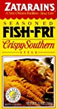 Zatarain's Seasoned Fish-Fri, Crispy Southern Style Fry, 12 oz (6 pack)