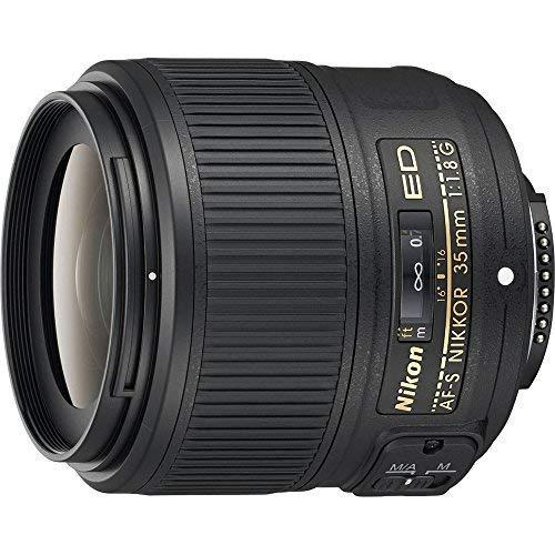 Nikon AF-S FX NIKKOR 35mm f/1.8G ED Fixed Zoom Lens with Auto Focus for Nikon DSLR Cameras (Renewed)