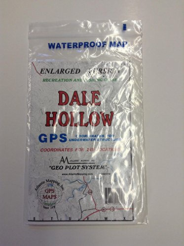 Atlantic Mapping - Dale Hollow Lake, Kentucky - Geographic GPS Charts Map by Atlantic Mapping