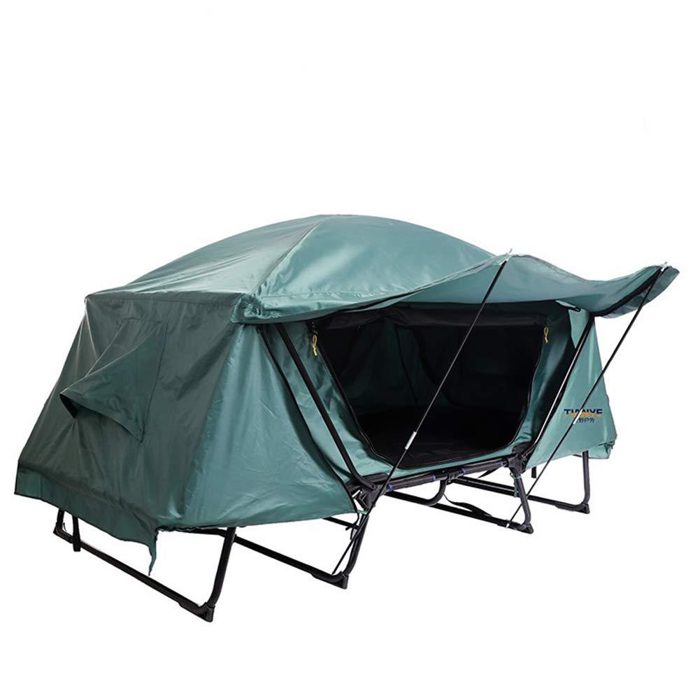 CAR SHUN Multifunktionales Einzel Zeltbett Wasserdicht Und Kaltes Outdoor-Freizeit-Klappdach Abseits des Boden Zeltes