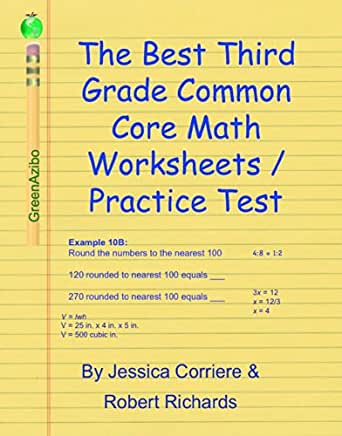 The Best Third Grade Common Core Math Worksheets / Practice Test ...