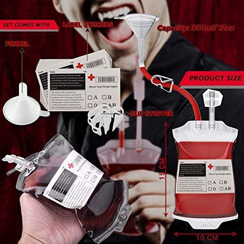 Tamaño para Fiesta Grande - 10 Bolsas de Transfusión de Sangre ...