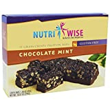 NutriWise – Chocolate Mint Crispy Diet Protein Bars (7 bars)