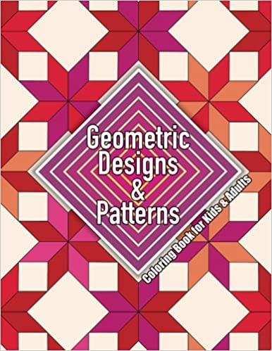 Geometric Designs Patterns Coloring Book For Kids Adults Sacred Mandala And Books Volume 41 Lilt
