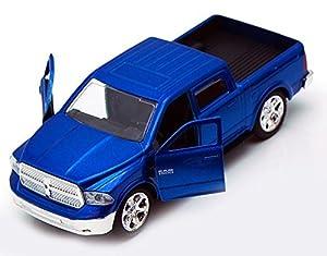 Dodge Ram 1500 Pickup Truck, Blue - Jada Toys Just Trucks 97015 - 1/32 scale Diecast Model Toy Car