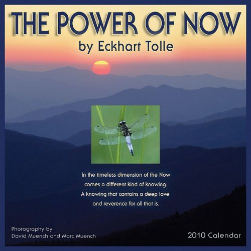 The Power of Now 2010 Wall Calendar ()