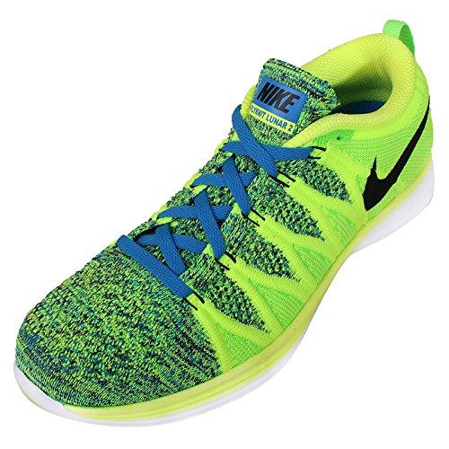 Flyknit 011 620465 Nike De Sport Vert Cours D'ex Hommes En Chaussures Lunar2 Pour qfwTCn6q