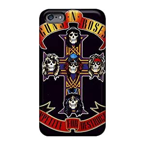 Great Hard Phone Case For Iphone 6plus With Support Your Personal Customized Fashion Guns N Roses Band Pattern ErleneRobinson