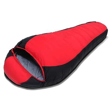 YUN HAI Saco de Dormir - Saco de Dormir de Abajo Momia Caliente - 95%