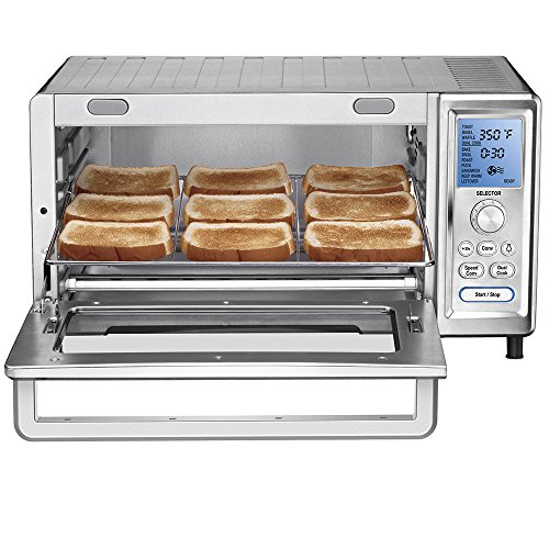 Cuisinart TOB-260 Chef's Convection Toaster Oven DISCONTINUED BY MANUFACTURER (Exact Heat Toaster Oven Broiler compare prices)