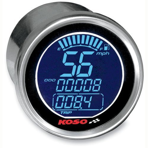 Koso BA552B70 Universal Electronic Speedometer For Harley-Davidson