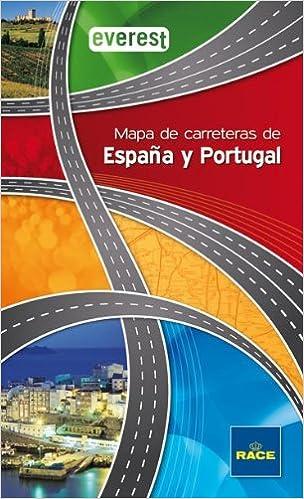 Mapa de Carreteras de España y Portugal Everest Guías del viajero ...