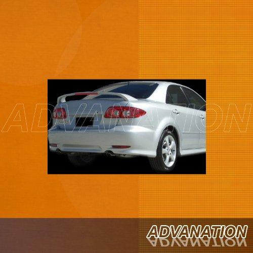 Mazda 6 Sedan 03-08 ABS Trunk Rear Wing Spoiler Unpainted Primer
