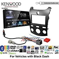 Volunteer Audio Kenwood DDX9904S Double Din Radio Install Kit with Apple CarPlay Android Auto Bluetooth Fits 2011-2013 Kia Forte (Black)