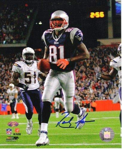 new style ddd4c 26736 Randy Moss Autographed/Signed New England Patriots 1620 NFL ...