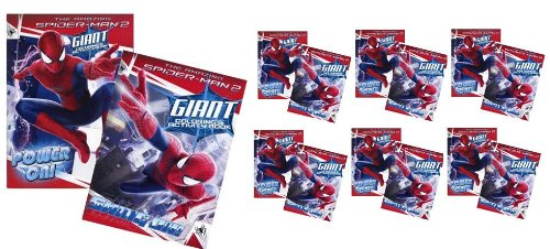 The Amazing Spider-Man 2 80 Pages Coloring and Activity Book x 12