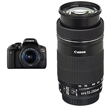 Amazon Com Canon Eos Rebel T6i Digital Slr With Ef S 18