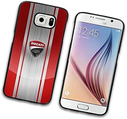 Fun Design Brand – Carcasa rígida para Samsung Galaxy S6 Tumblr, Ducati de marca lujo ultra protectora (dorado brillante) – irrompible Belle, multicolor Case para ...