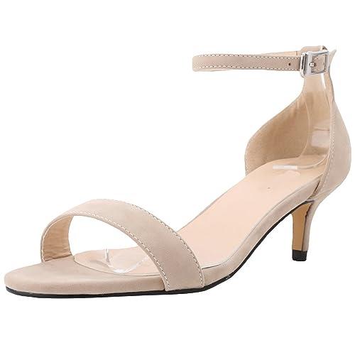 Oficina Tiras Tacón Mujer Wanyang Zapatos Hebillas Bajo Y En De Para Terciopelo La Parte WDY2eEH9I