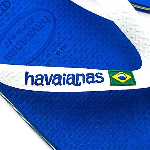 HAVAIANAS - infradito brasiliane blu in gomma, Bambino, Ragazzo