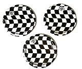 Open Wheel Indy Car Racing Checkard Flag Party Plates (24)