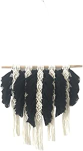 Kiido Macrame Wall Hanging Woven Tapestry Wall Art Decor – Bohe Home Décor For Living Room Bedroom , 15.7
