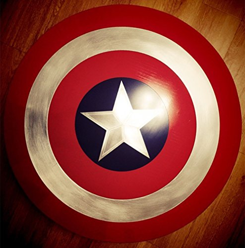 Captain America The Winter Soldier Costume Replica (Gmasking Captain America Adult Shield Metal 1:1 Prop Replica)