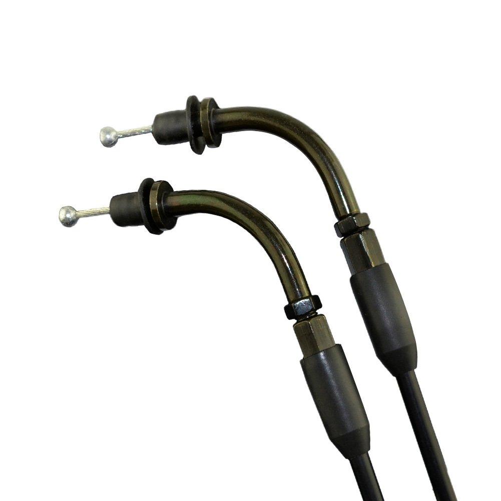 AHL Cable del acelerador Cable Bowden para Harley Davidson para deporte ster 883/1200