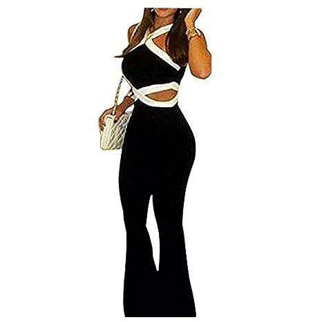 garantía limitada reloj varios diseños Personalidad Mujeres Halter Cuello en V Sin mangas Recorte ...