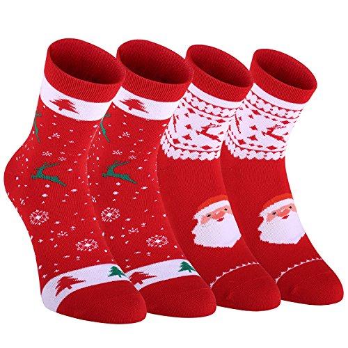 Fazitrip Mens Ankle Athletic Socks Running Sports Performance Best Comfort Cushioned Socks?2 Pairs?