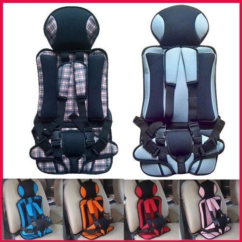 Детское автокресло 6 цветов Vehienlar утолщение крышки места автомобиля Портативный Annbaby Безопасность детей Seat младенческой / Детское автомобильное кресло (коричневый)