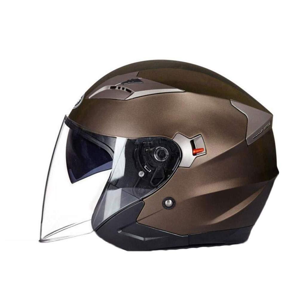 MGIZ 男女兼用電気自動車ヘルメットフルフェイスフリップアップモジュラーオートバイヘルメットデュアルバイザーモトクロス  StyleB B07Q2WDB91