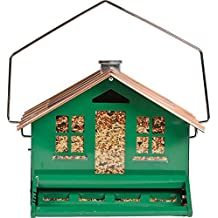 GREEN SQUIRREL PROOF FEEDER