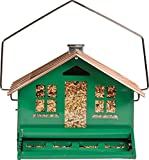 Opus [Perky-Pet] Squirrel Be Gone Bird Feeder, All Metal Squirrel Proof Wild...